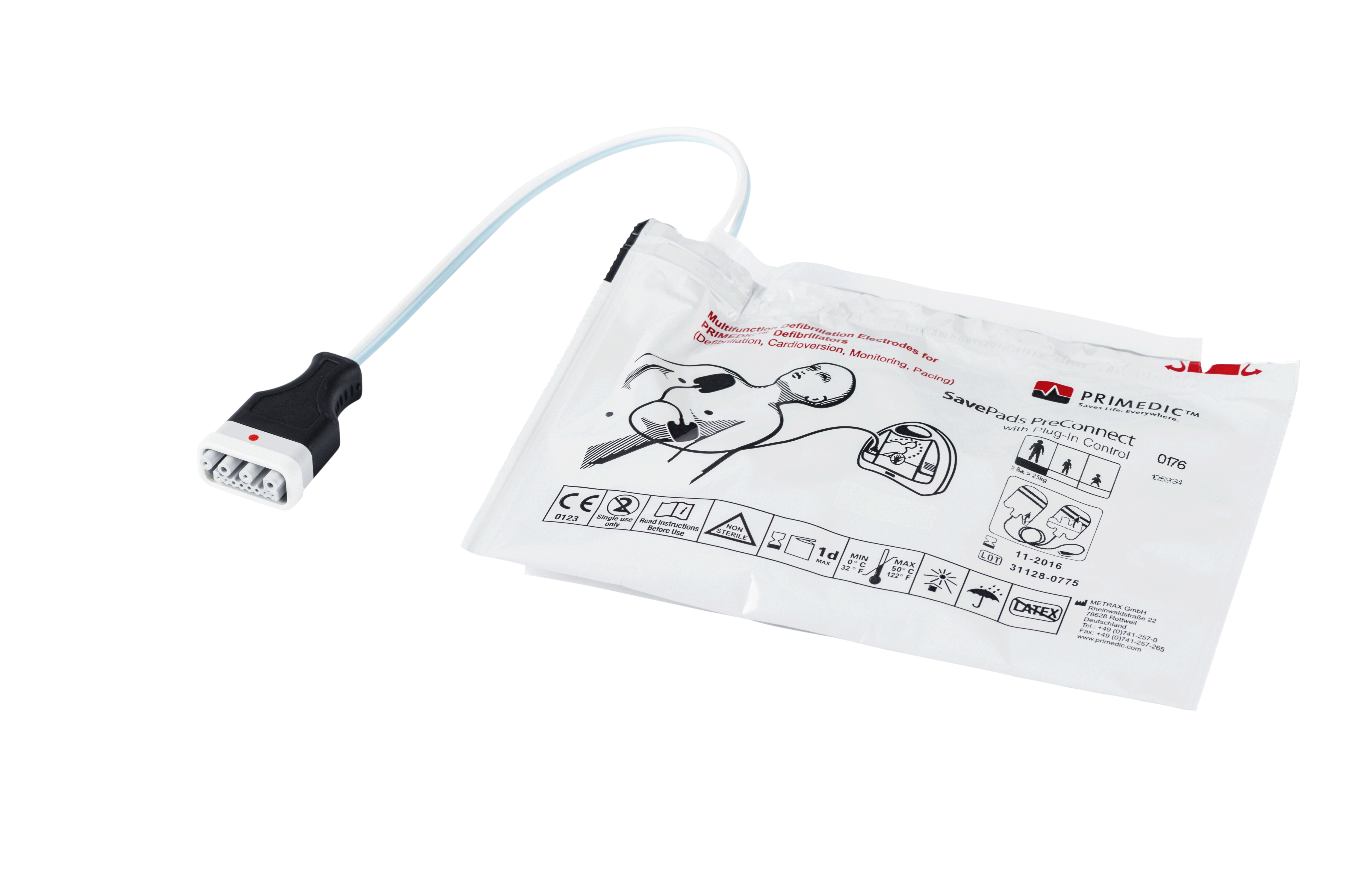 SavePads PreConnect AED