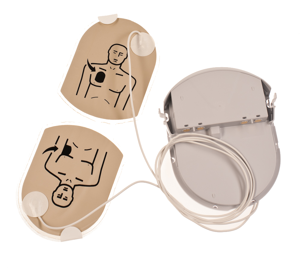 HeartSine Pad-Pak™ Elektroden und Batterie für Erwachsene