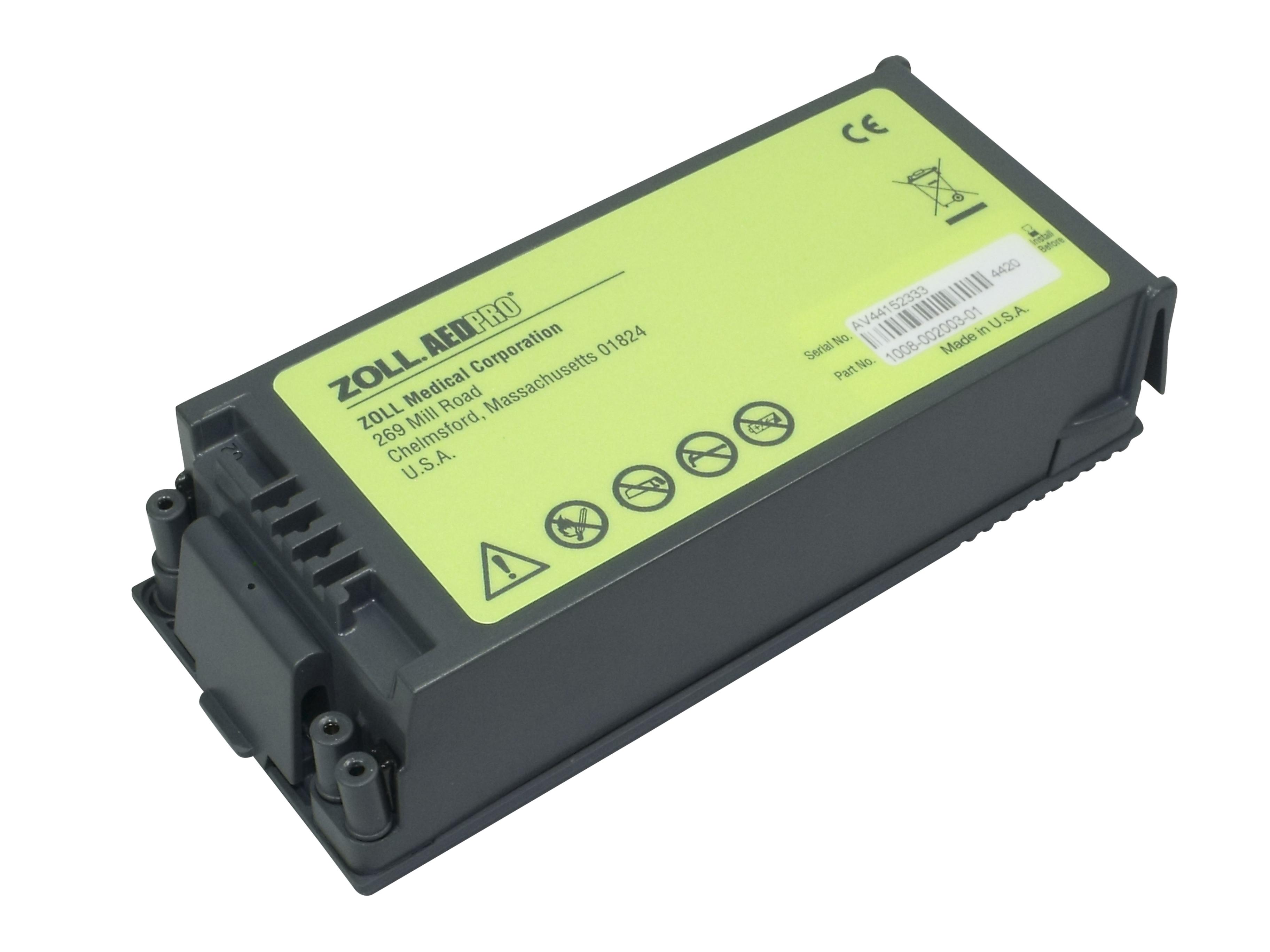 AED Pro Lithium Batterie (nicht wiederaufladbar)