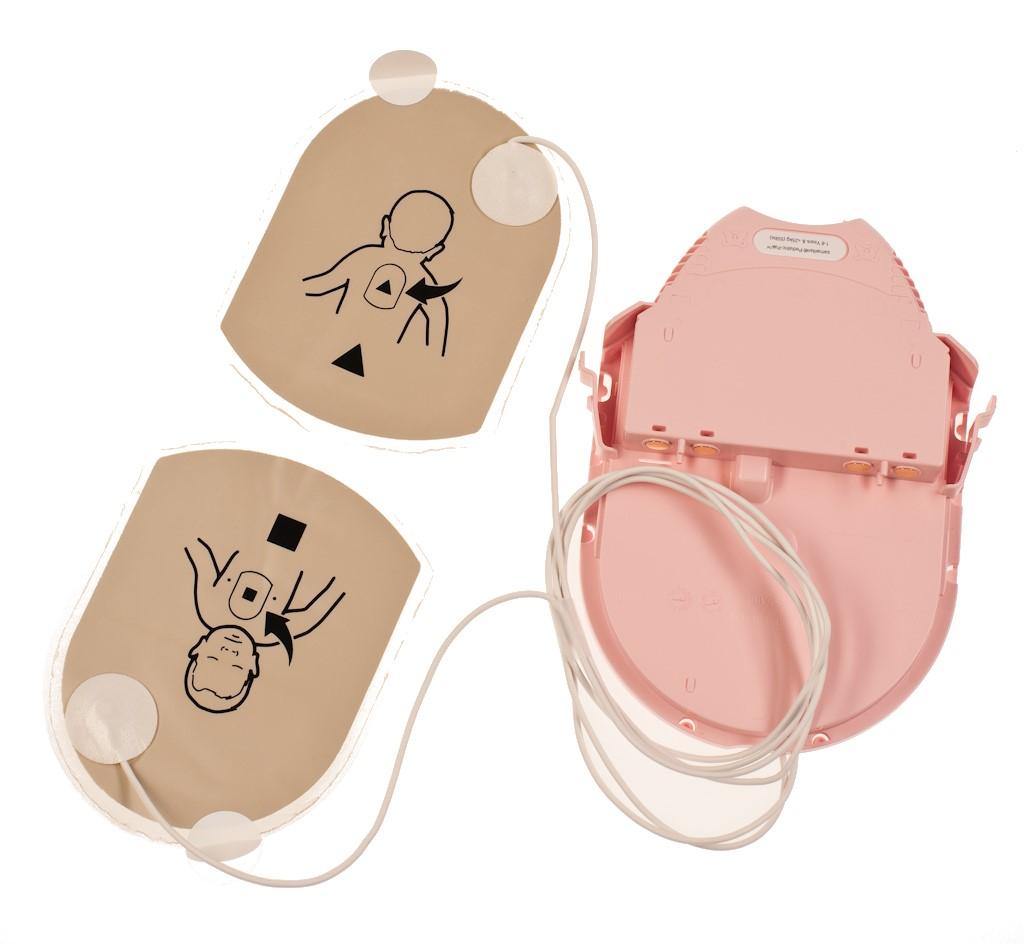 Pediatric-Pak™ Elektroden und Batterie für Kinder