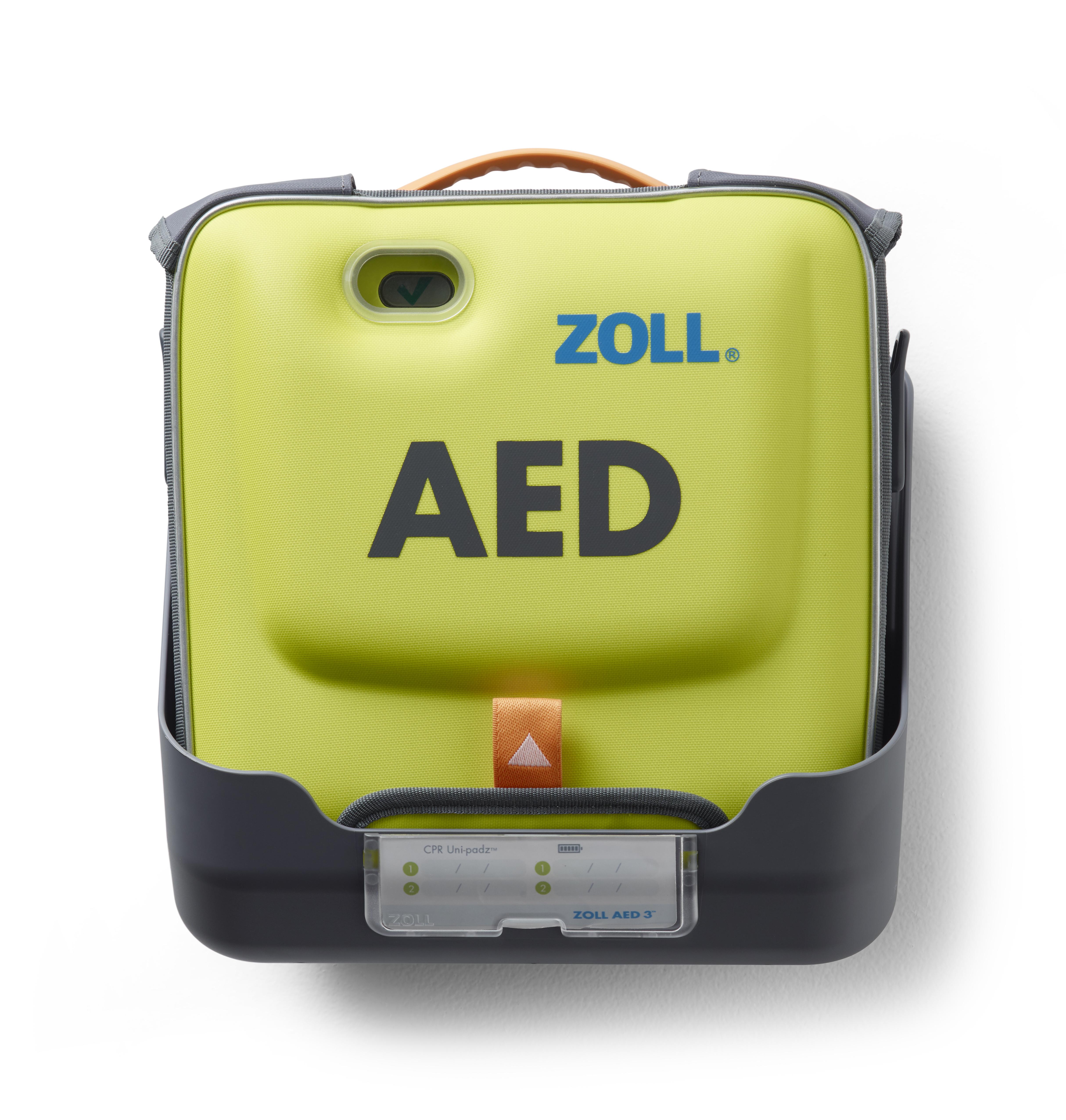 AED 3 Wandhalterung (für Gerät in Tasche)