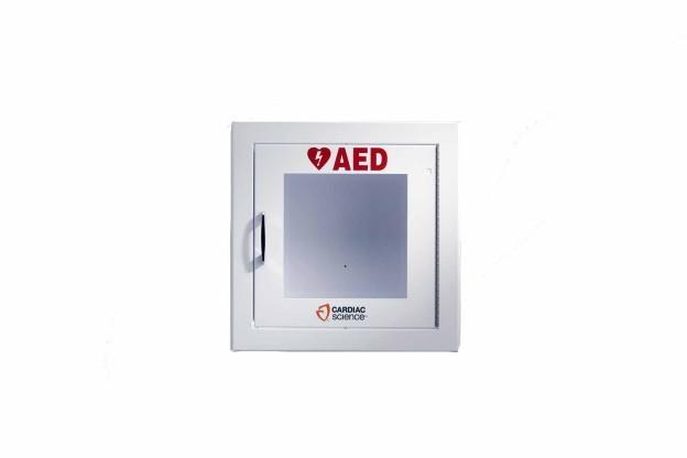 Wandschrank Metall (beige) für Powerheart® G3 und G5 AED