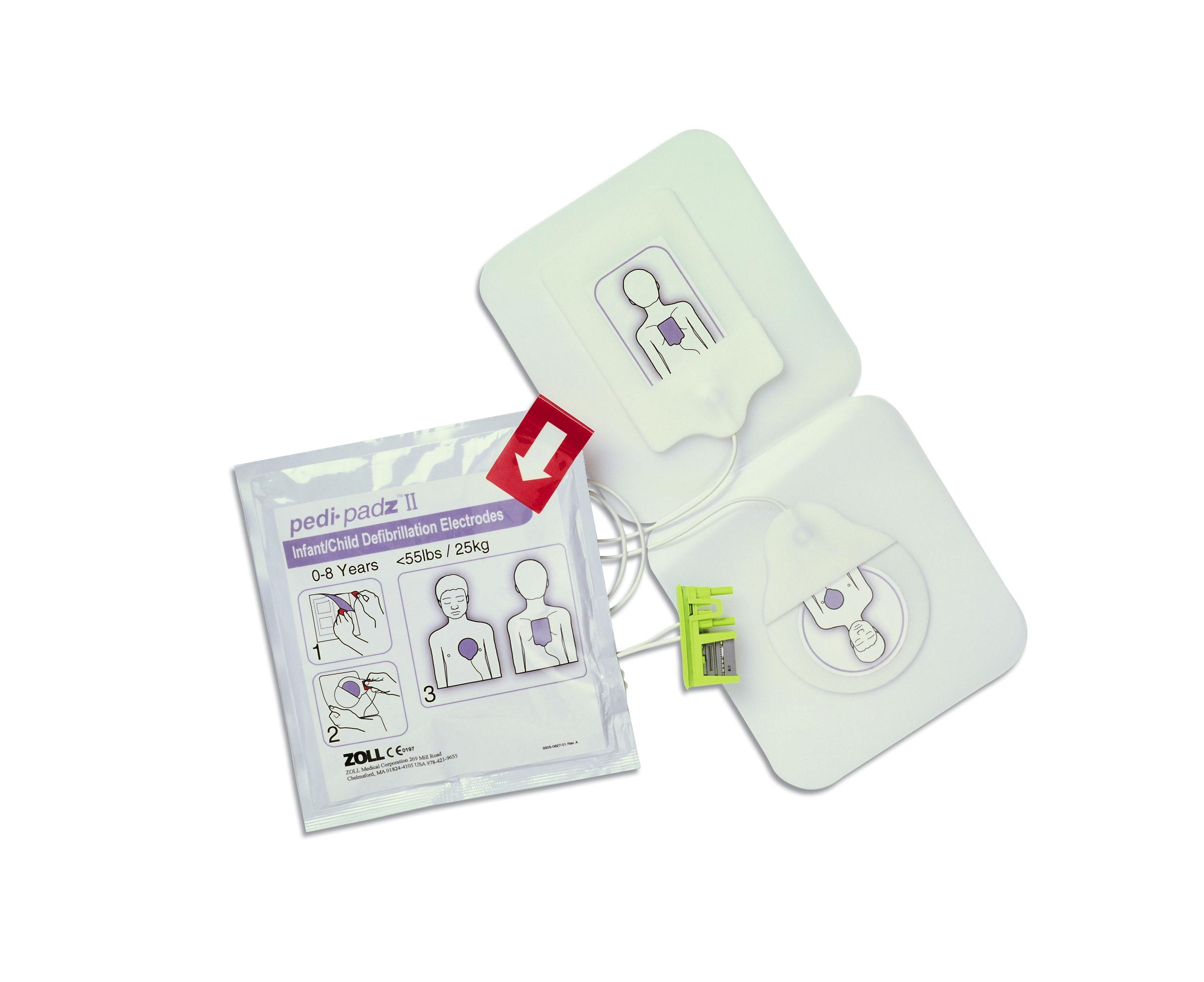 pedi padz II Pädiatrische Elektrode (Kinder)
