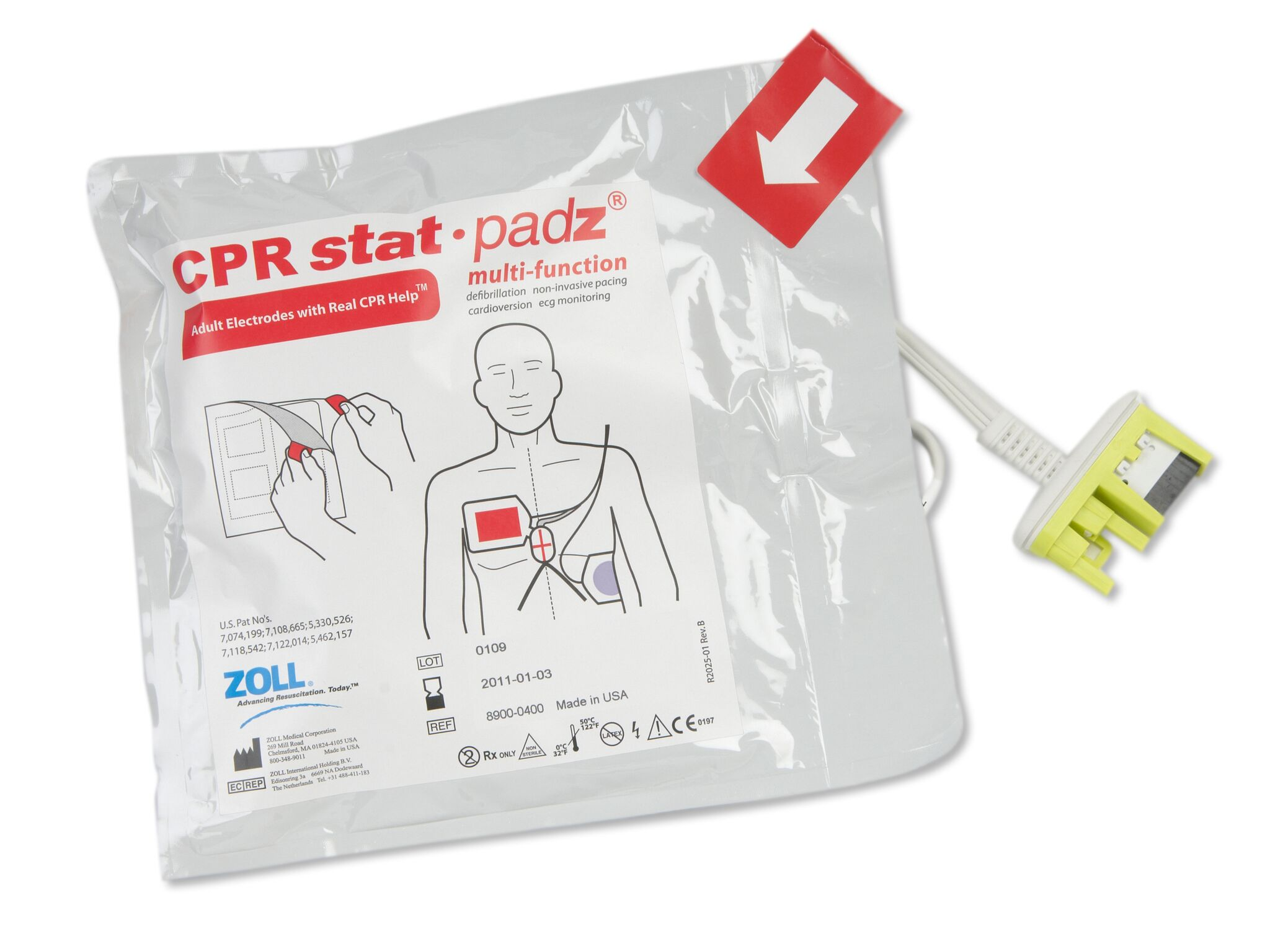 CPR stat padz mit Real CPR Help Funktion