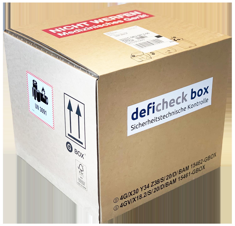 deficheck box | AED STK einfach und sicher
