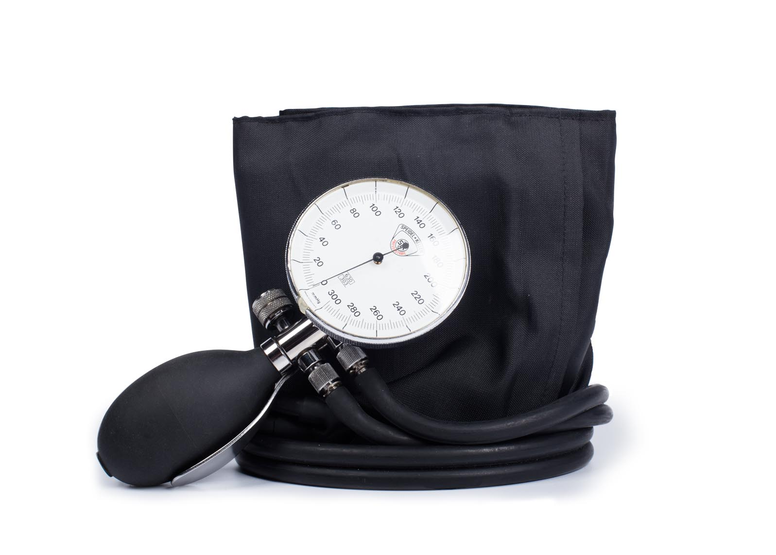 Messtechnische Kontrolle an aneroid Blutdruckmessgeräten