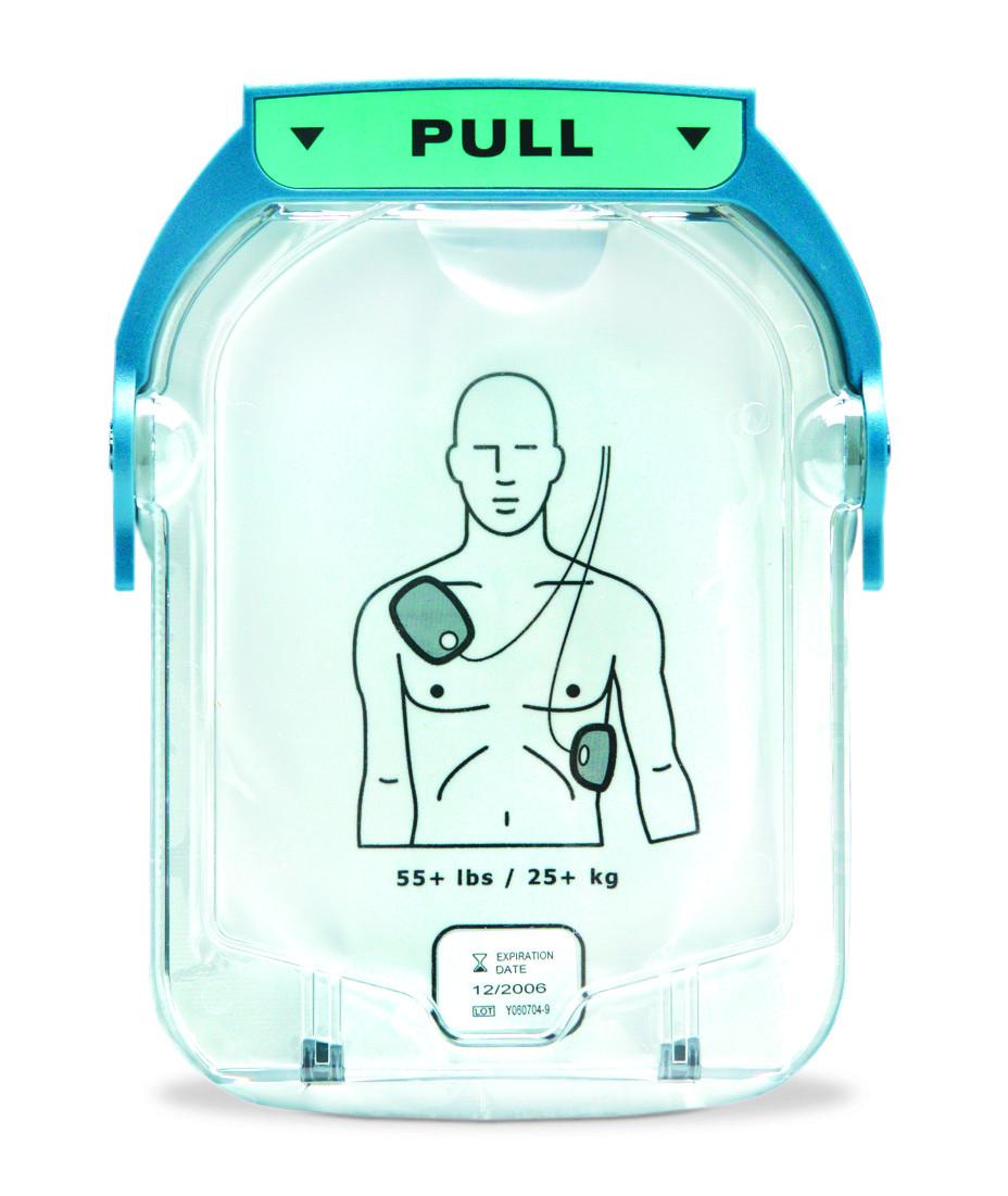 Elektrodenkassette für den Philips HeartStart HS1 Erwachsende